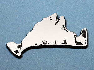 Martha's Vineyard Chrome Car Emblem