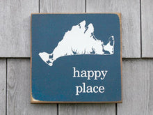 Load image into Gallery viewer, Martha's Vineyard Happy Place Sign