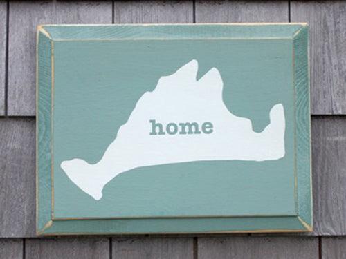 Martha's Vineyard Home Sign