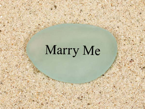 Marry Me Sea Glass