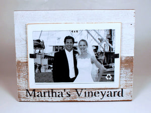 Martha's Vineyard Beach Photo Frame 4 x 6