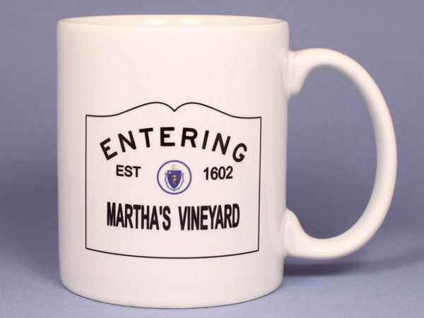 Entering Martha's Vineyard Ceramic Mug