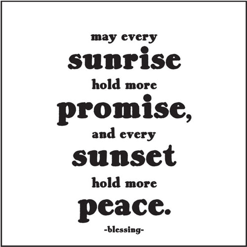 May Every Sunrise Quotable Card