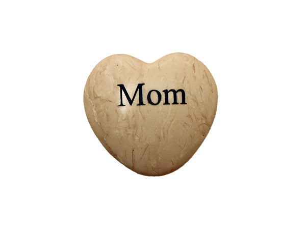 Mom Small Engraved Heart