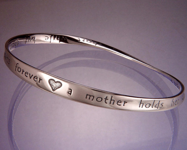 Sterling Silver Mother Mobius Bracelet