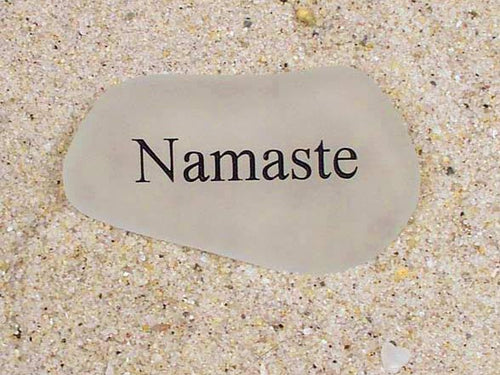Namaste Sea Glass