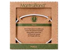 Load image into Gallery viewer, Peace Mantraband Cuff Bracelet