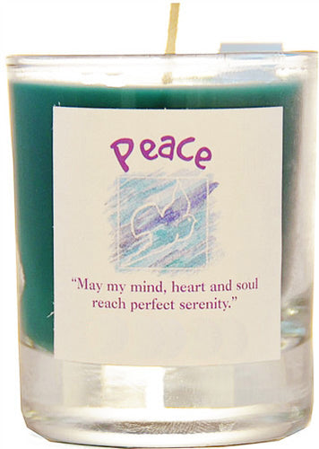 Peace Soy Jar Candle