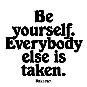 Be Yourself Quotable Magnet