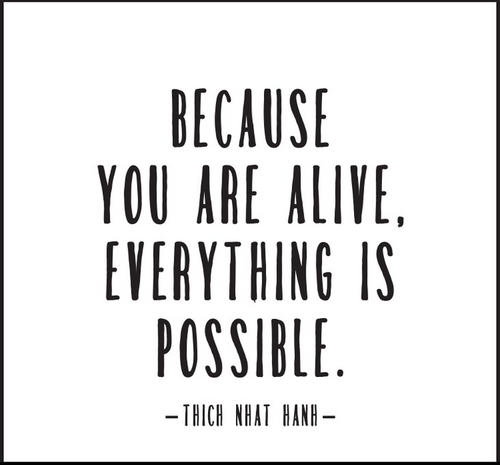 Because You Are Alive Quotable Card