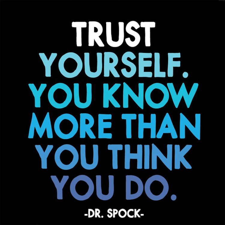 Trust Yourself Quotable Magnet