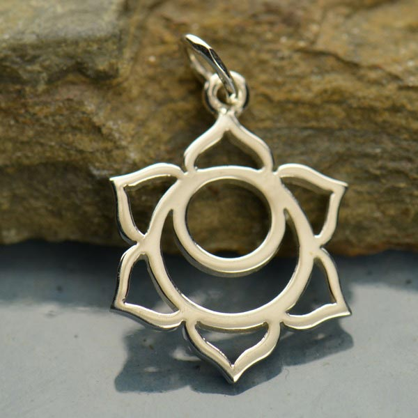 Sterling Silver Sacral Chakra Charm