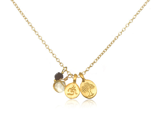 Satya Gold Quest For Truth Necklace