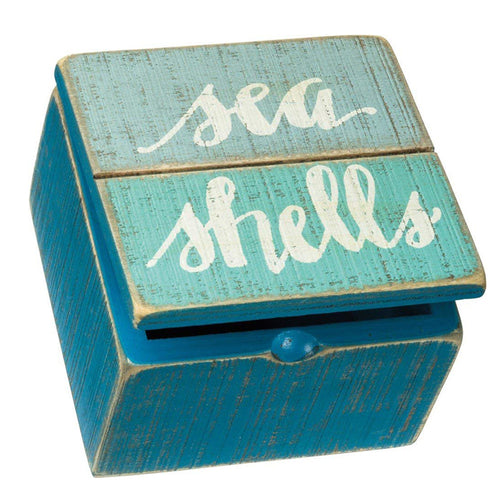 Sea Shells Keepsake Box