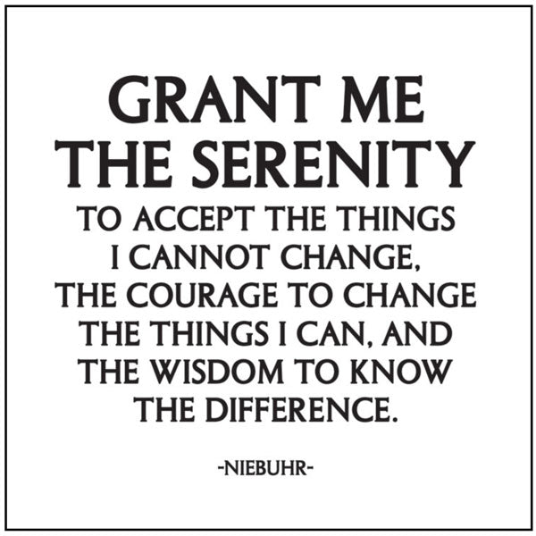 Serenity Prayer Quotable Card or Magnet