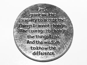 Serenity Prayer Tree of Life Pocket Token