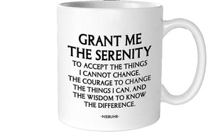 Quotable Serenity Prayer Mug