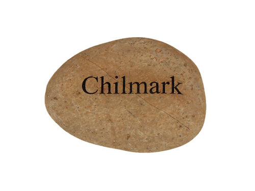 Chilmark Small Carved Beach Stone