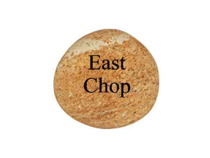 East Chop Small Carved Beach Stone