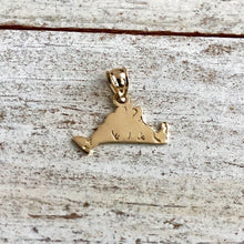 Load image into Gallery viewer, Solid Gold Martha's Vineyard Island Charms