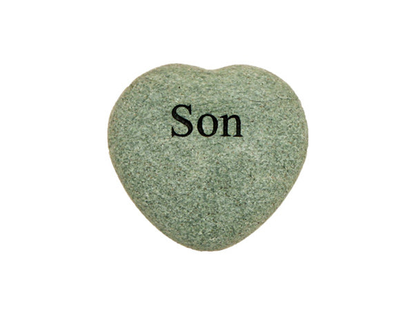 Son Small Engraved Heart
