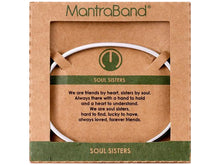 Load image into Gallery viewer, Soul Sisters Mantraband Cuff Bracelet