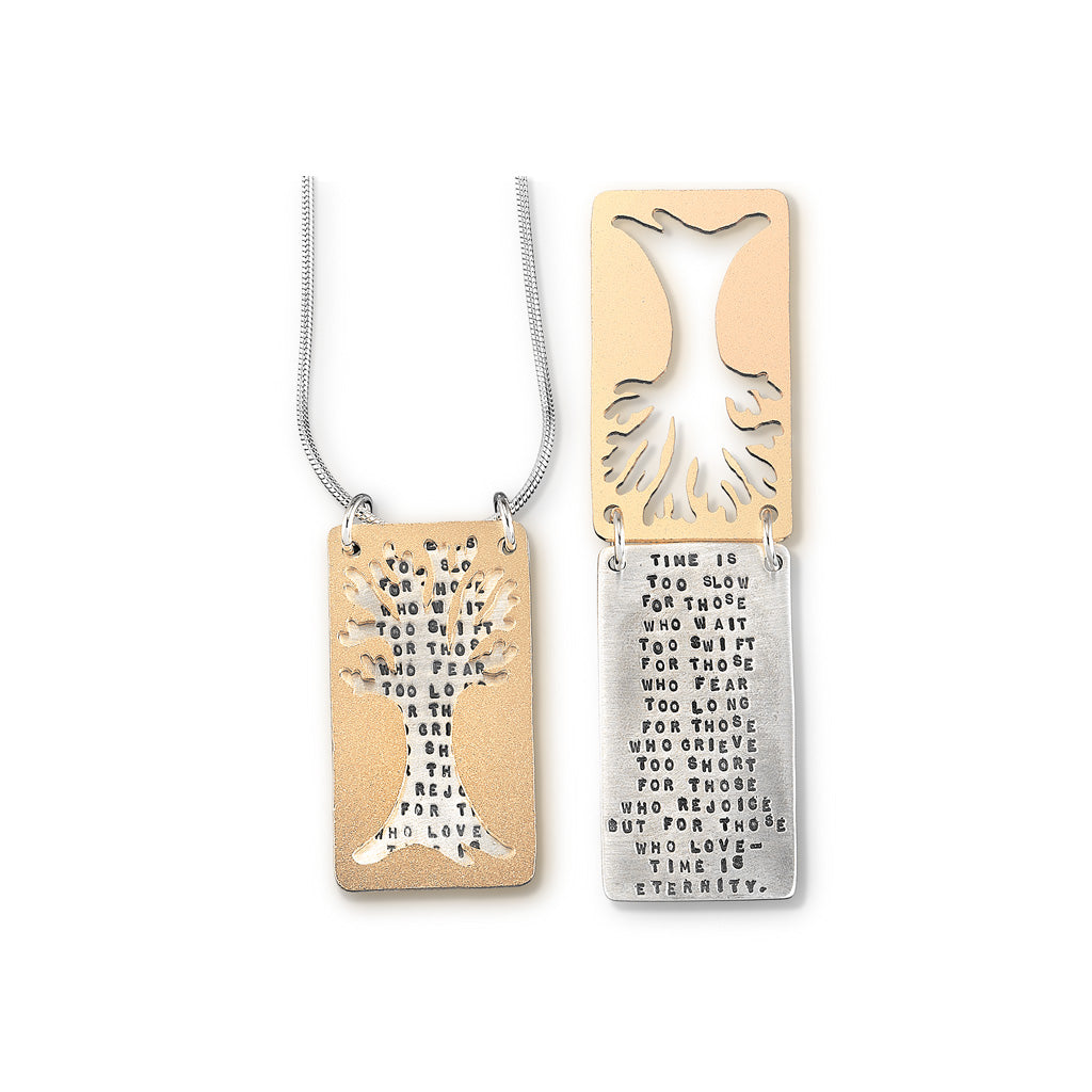Tree Poem Necklace