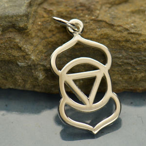 Sterling Silver Third Eye Chakra Charm