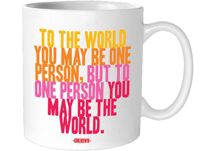 Quotable To The World Mug