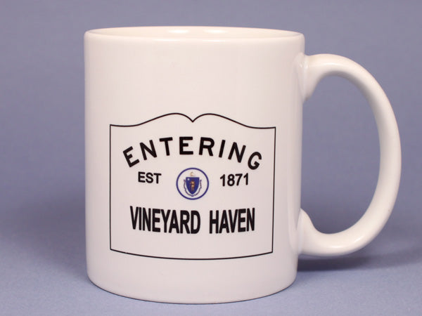 Entering Vineyard Haven Ceramic Mug