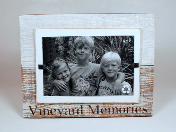 Vineyard Memories Beach Photo Frame 4 x 6