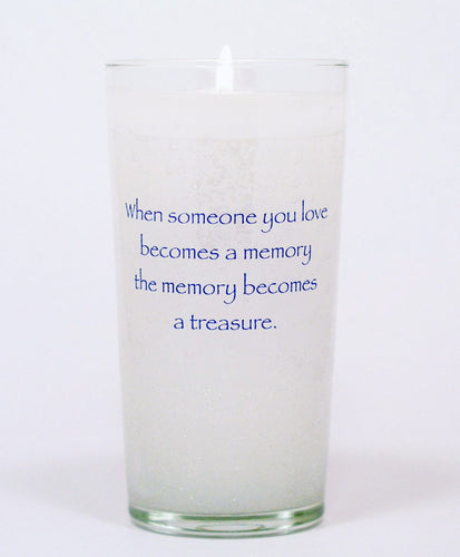 When Someone You Love Memorial Candle