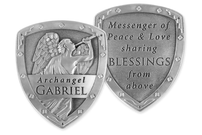 Archangel Gabriel Pocket Shield