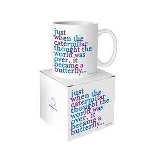Quotable Caterpillar Mug