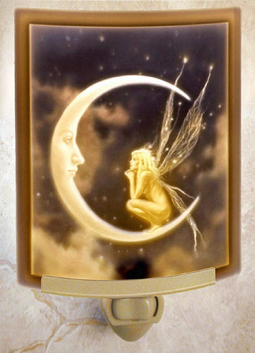 Fairy Moon Night Light Color