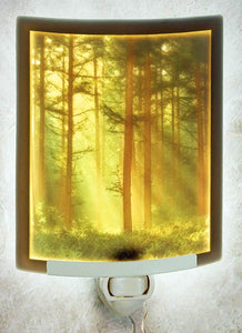 Woodland Sunbeams Night Light Color