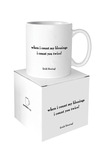 When I Count My Blessings Quotable Mug