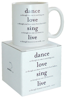 Quotable Dance Mug