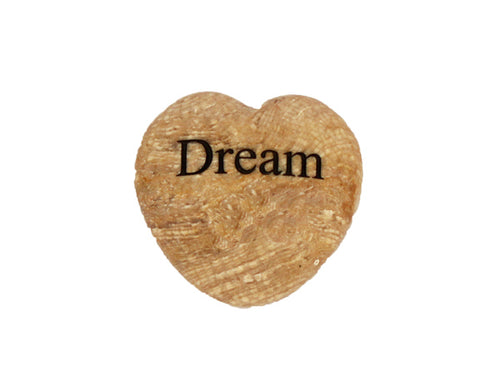 Dream Small Engraved Heart