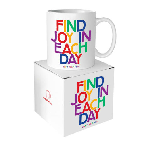 Find Joy In Each Day Quotable Mug