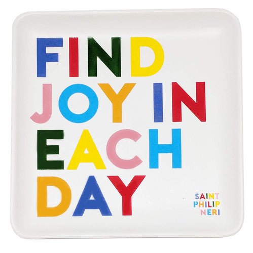 Find Joy In Each Day Quotable Dish