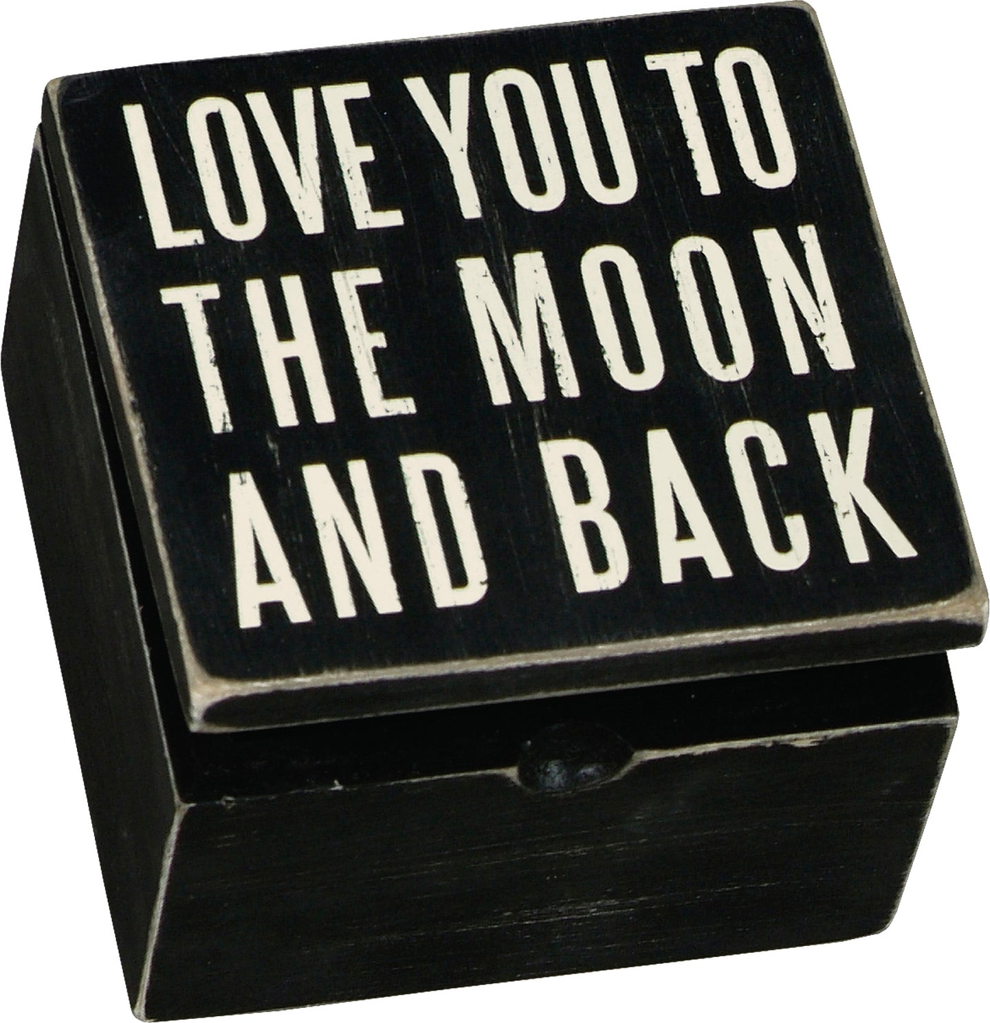 Love You To The Moon And Back Keepsake Box