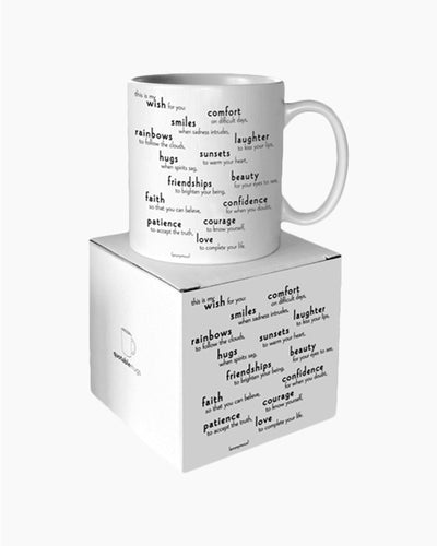 This Is My Wish For You Quotable Mug