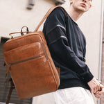 Men's Business Casual Backpack for School, Traveling, and More.