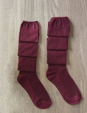 Knit Over Knee Long Thigh-High Socks