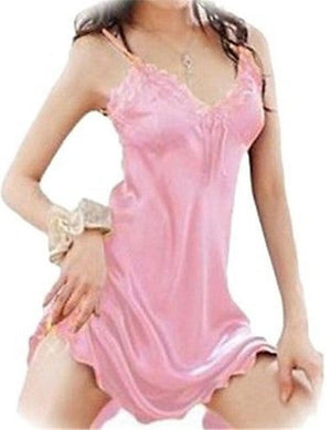 Lace Patchwork Babydoll Dress