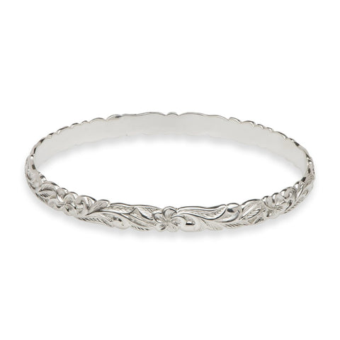 Sterling Silver Hawaiian Heirloom Bracelet
