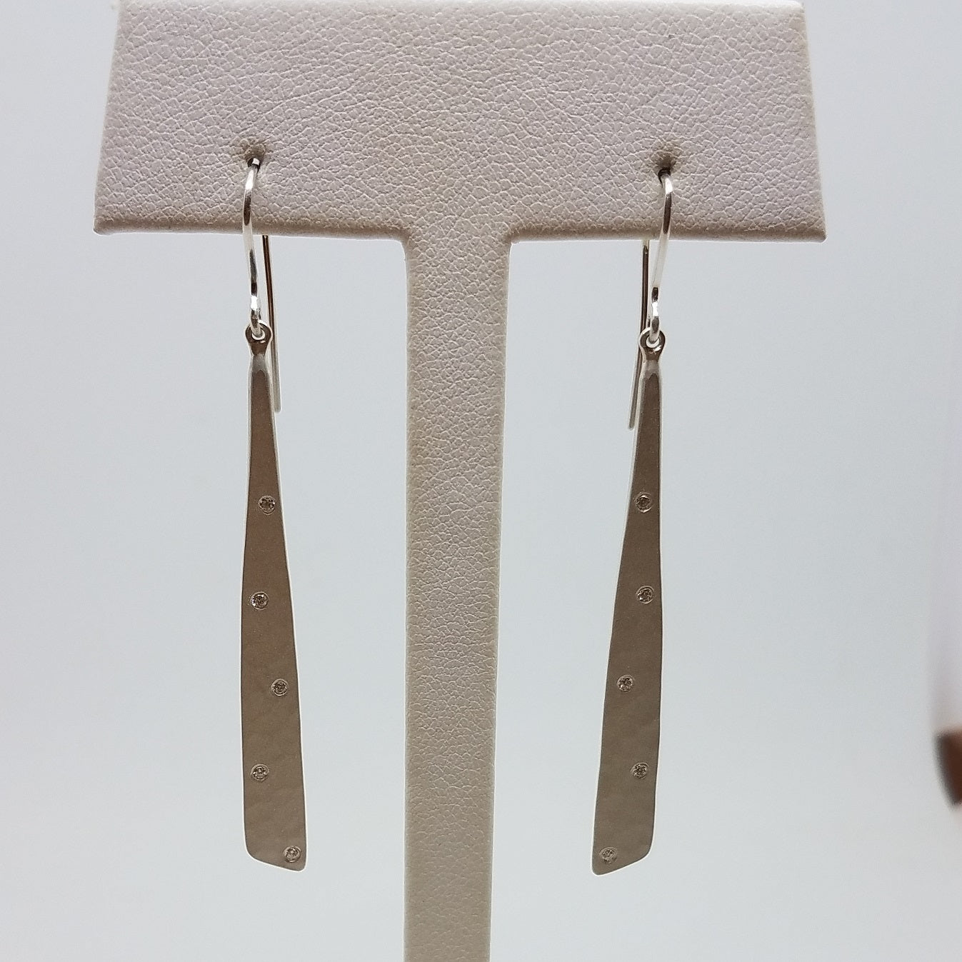 Waterfall Earring with Diamonds