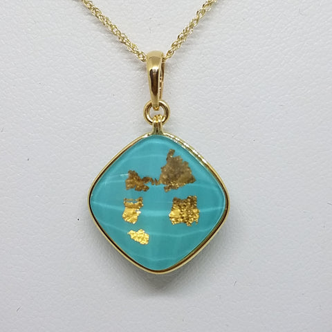 Denny Wong Treasure Island Pendant with Kauai