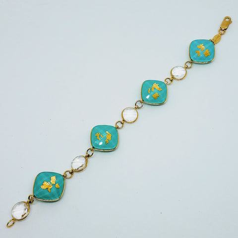 Denny Wong Treasure Island Bracelet with Four Islands